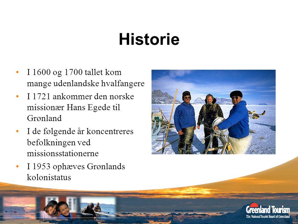 Historie I 1600 og 1700 tallet kom mange udenlandske hvalfangere