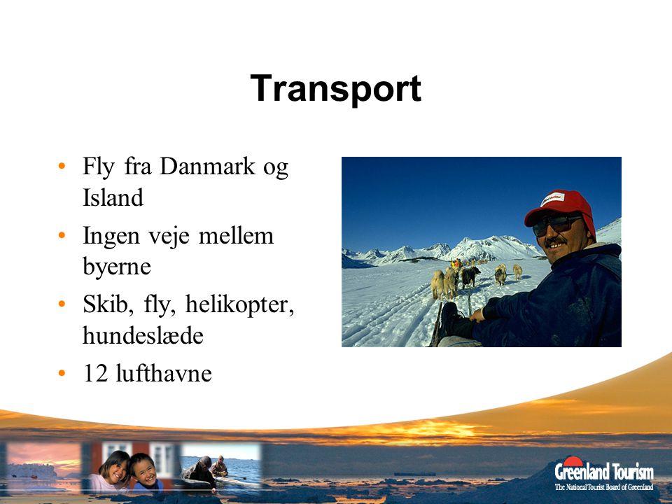 Transport Fly fra Danmark og Island Ingen veje mellem byerne