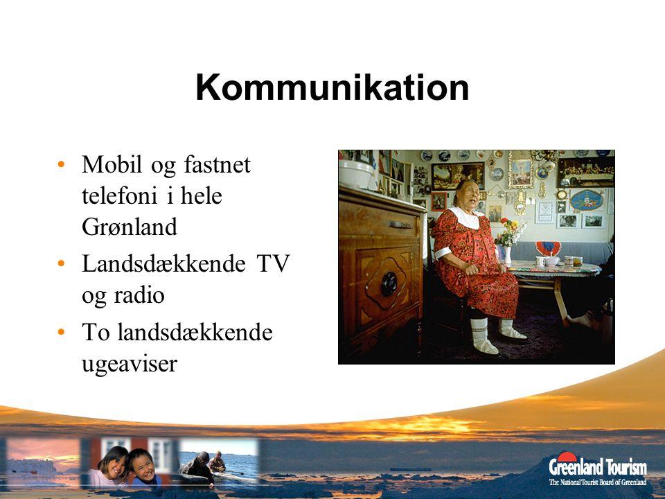 Kommunikation Mobil og fastnet telefoni i hele Grønland