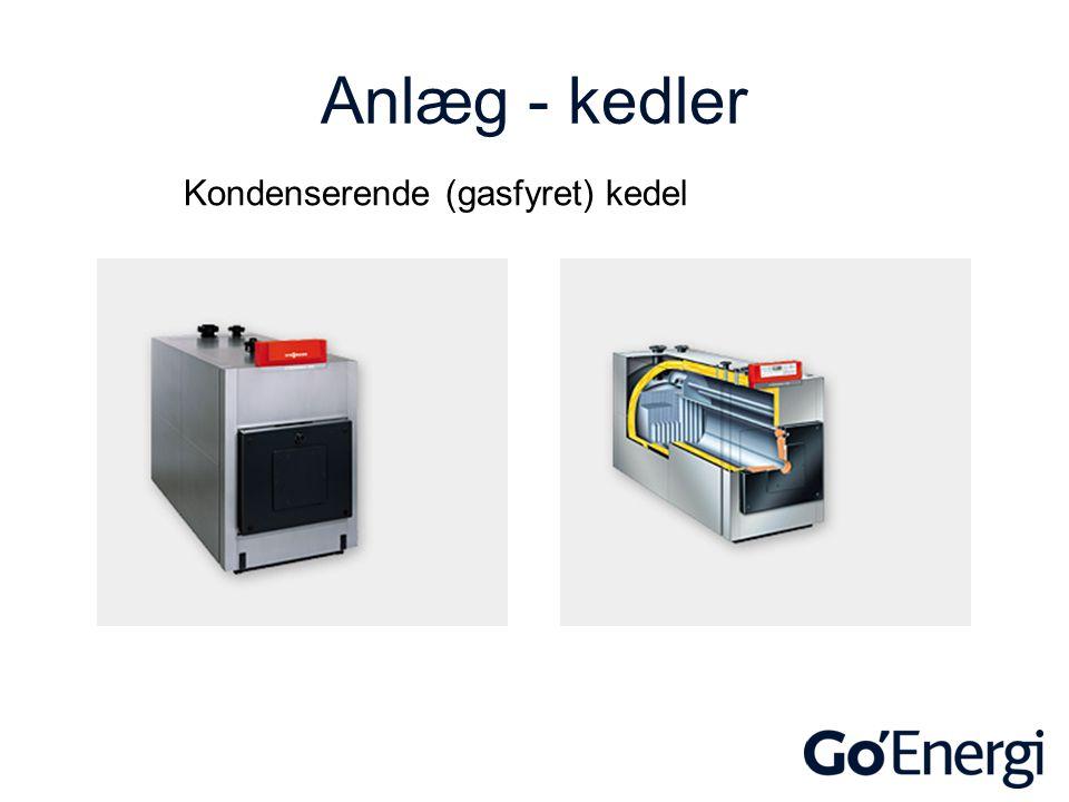 Anlæg - kedler Kondenserende (gasfyret) kedel