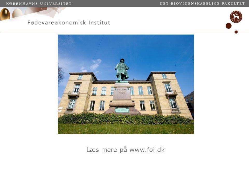Læs mere på www.foi.dk
