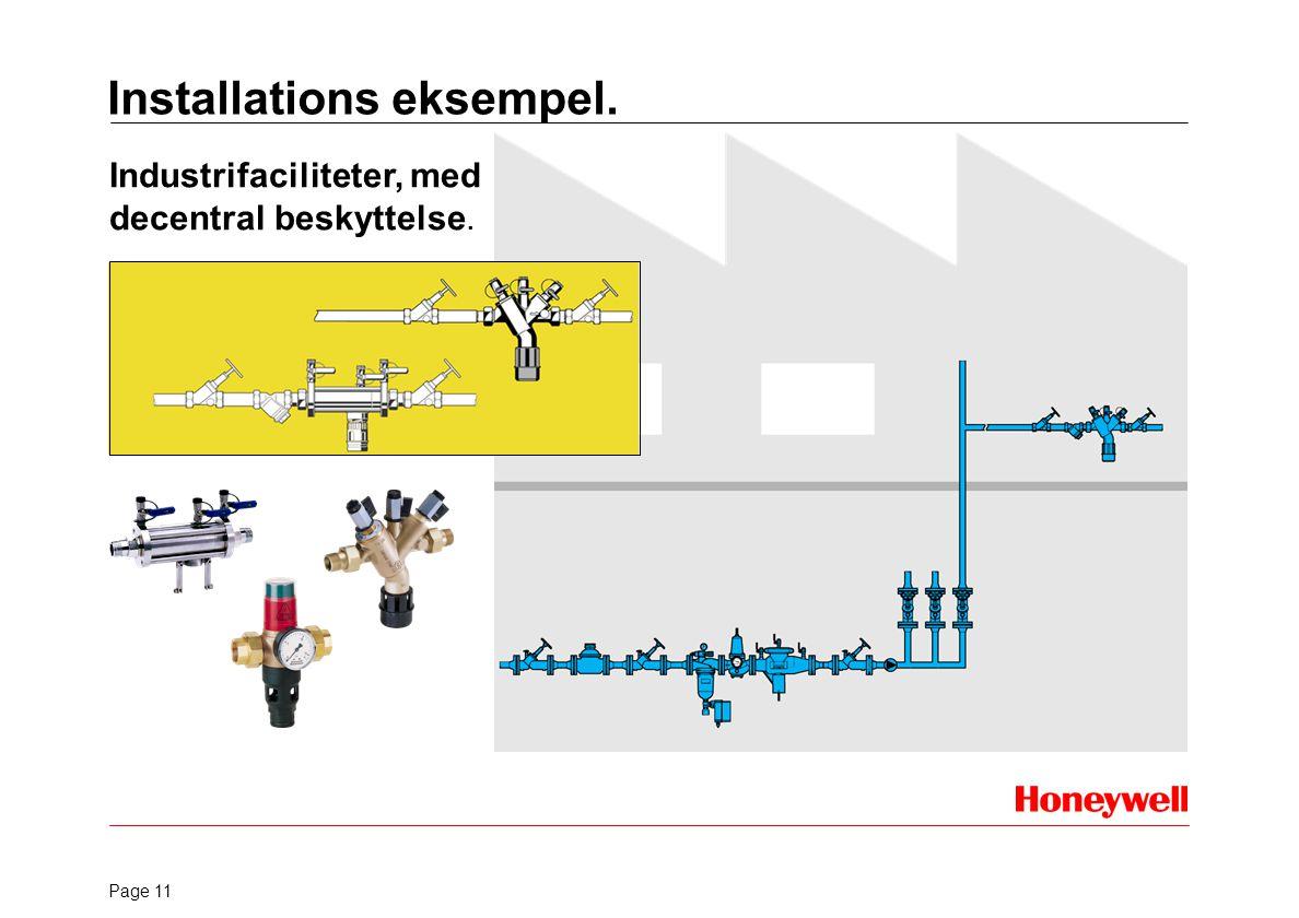 Installations eksempel.