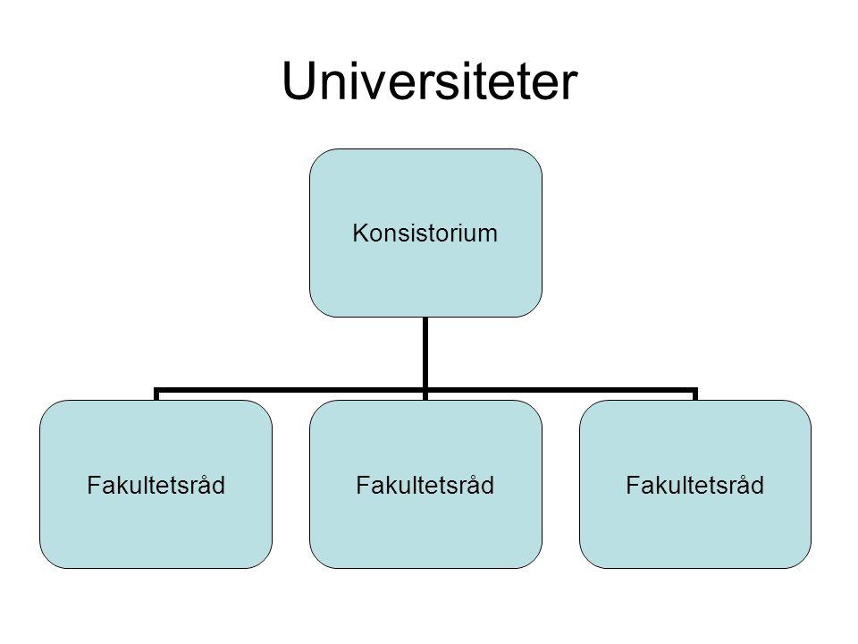 Universiteter