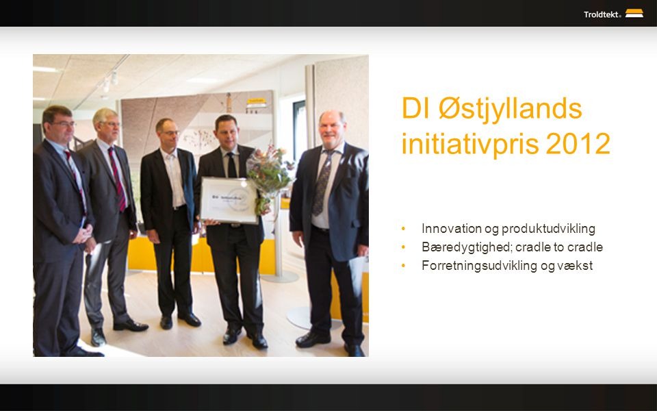 DI Østjyllands initiativpris 2012