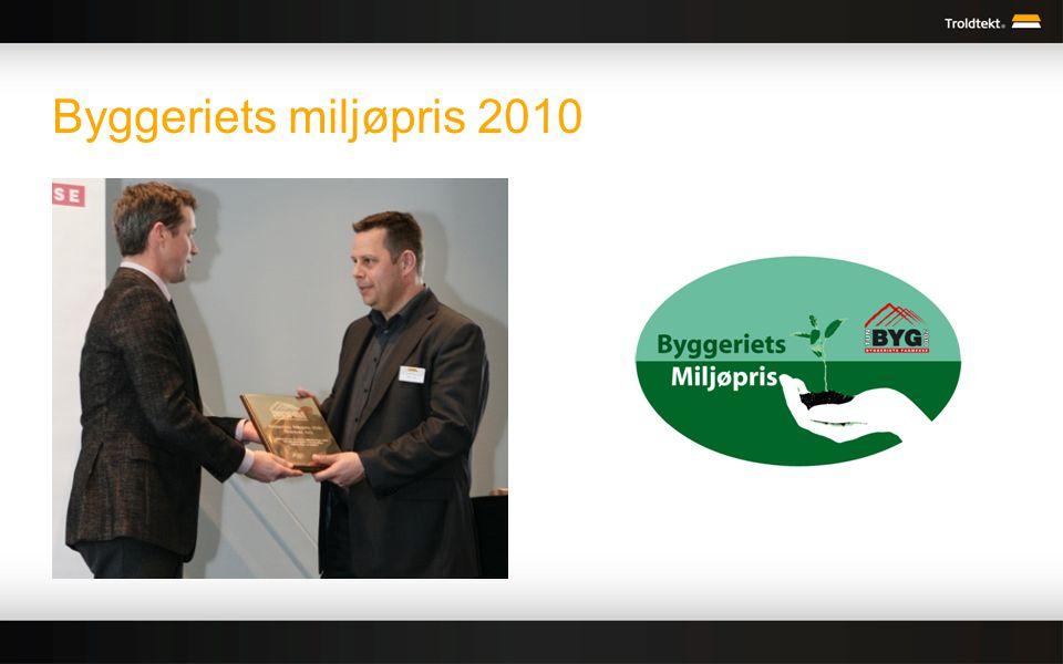 Byggeriets miljøpris 2010