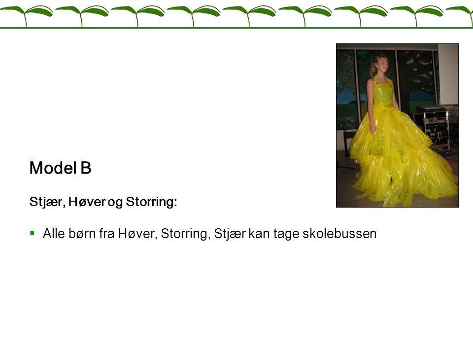 Model B Stjær, Høver og Storring: