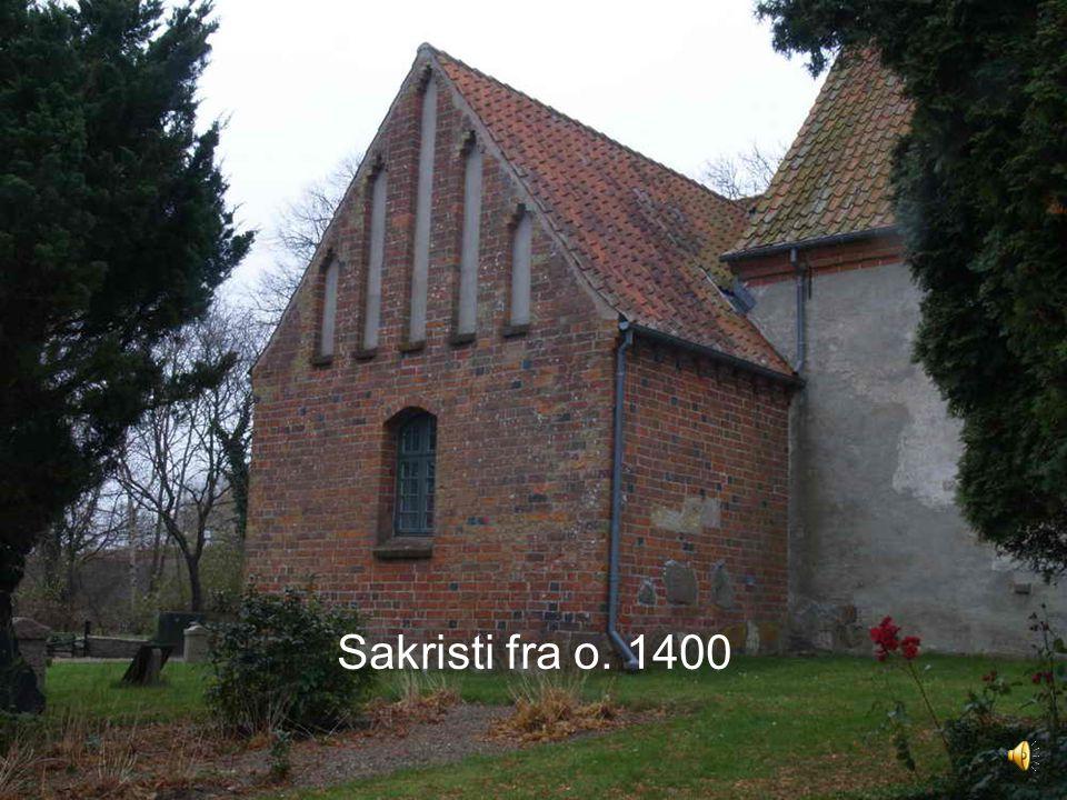 Sakristi fra o. 1400