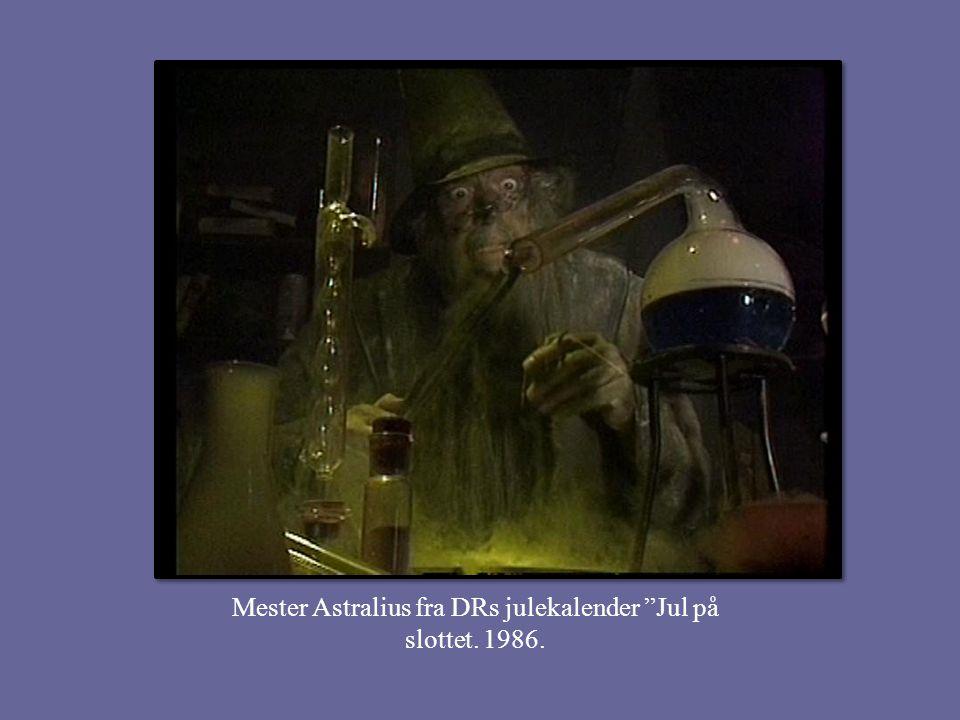Mester Astralius fra DRs julekalender Jul på slottet. 1986.