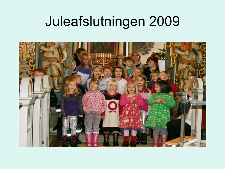 Juleafslutningen 2009