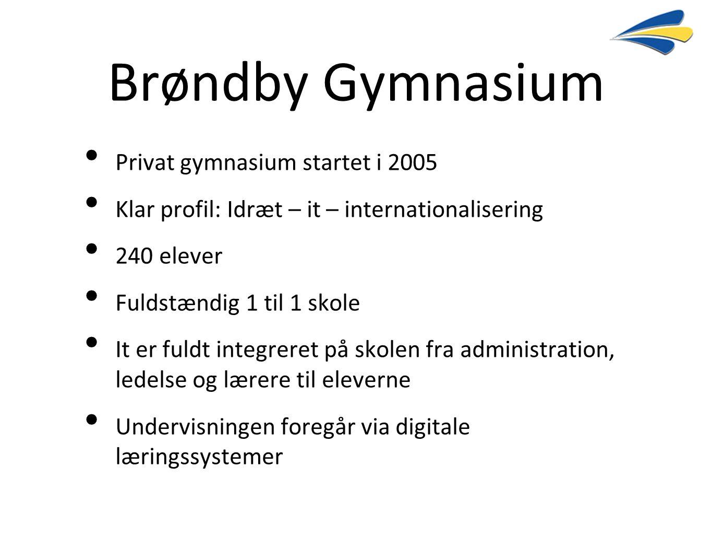 Brøndby Gymnasium Privat gymnasium startet i 2005