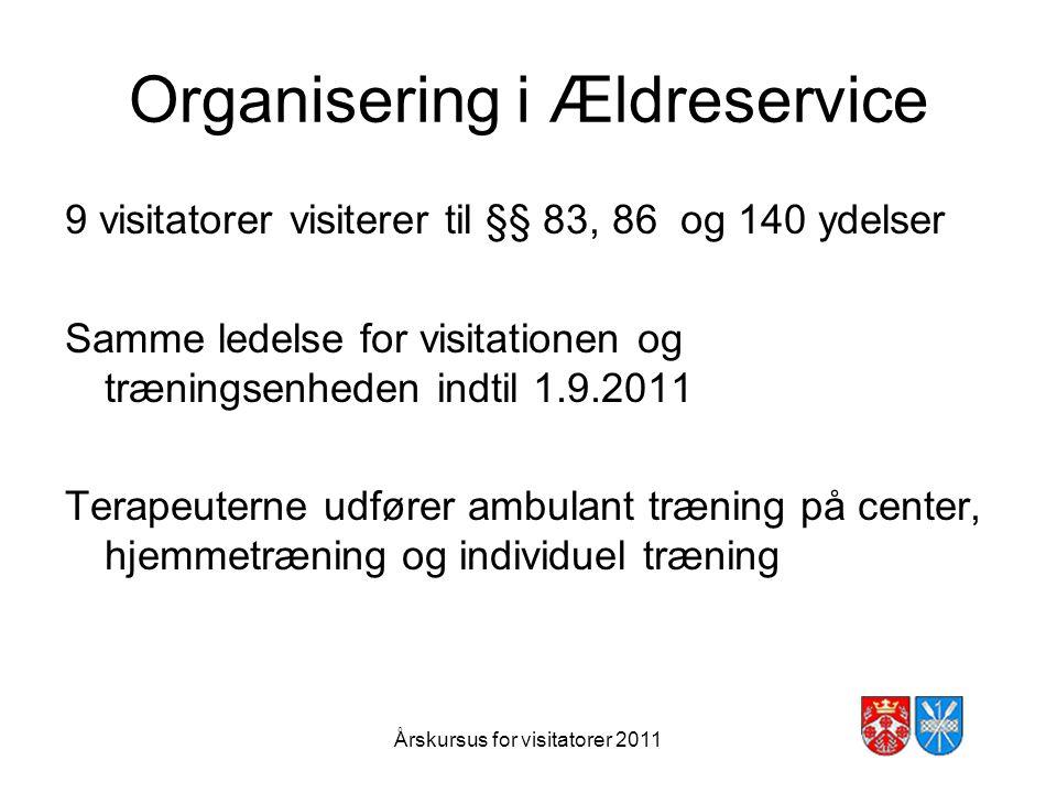 Organisering i Ældreservice
