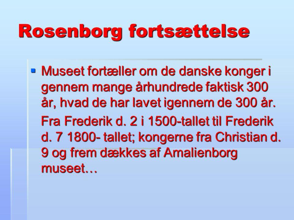 Rosenborg fortsættelse