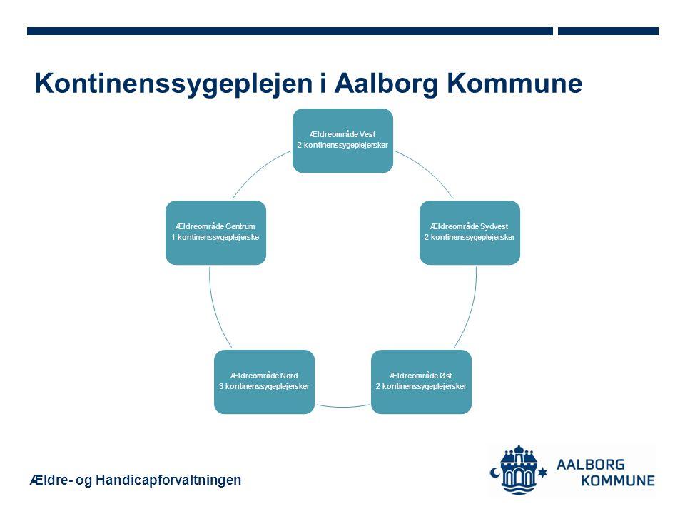 Kontinenssygeplejen i Aalborg Kommune