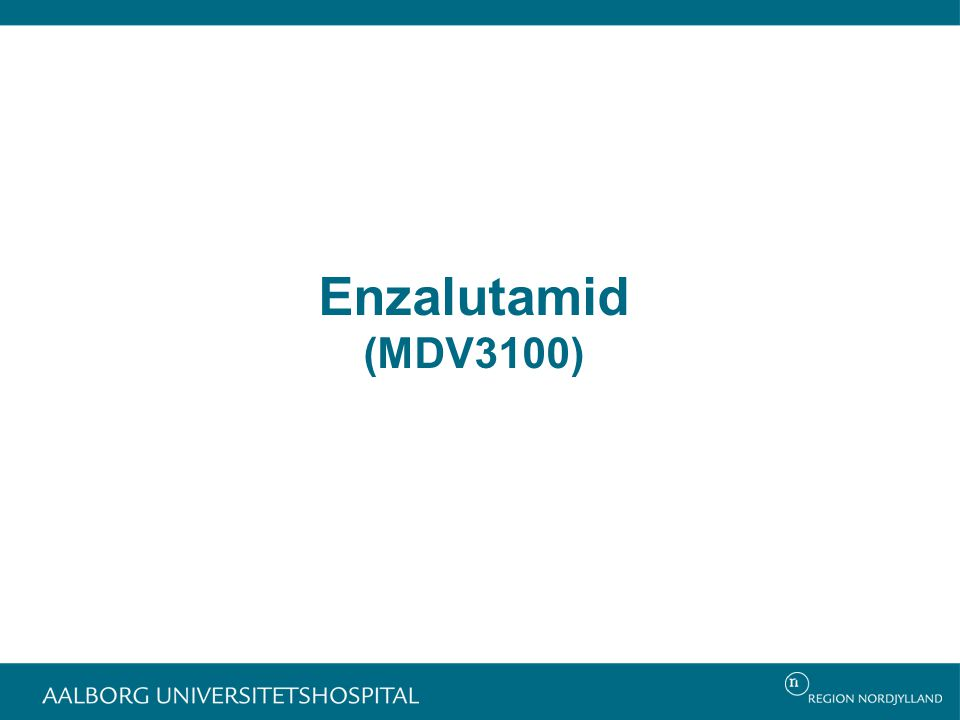 Enzalutamid (MDV3100)