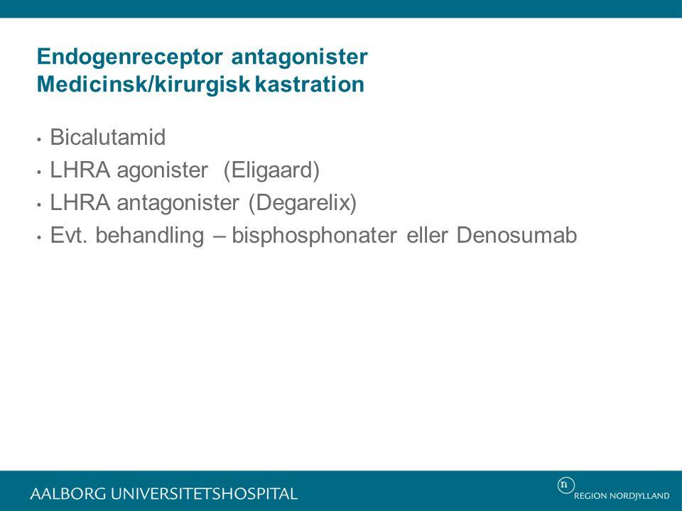 Endogenreceptor antagonister Medicinsk/kirurgisk kastration