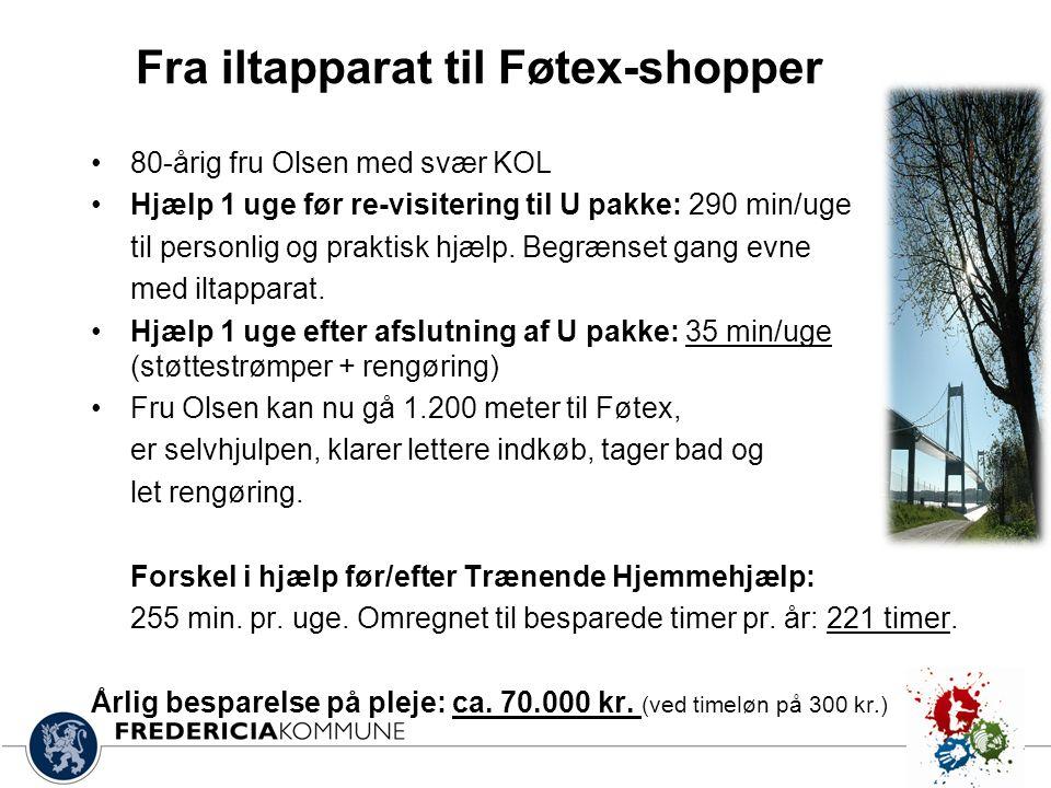 Fra iltapparat til Føtex-shopper
