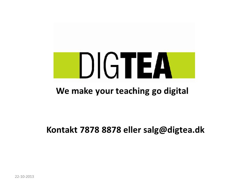 We make your teaching go digital