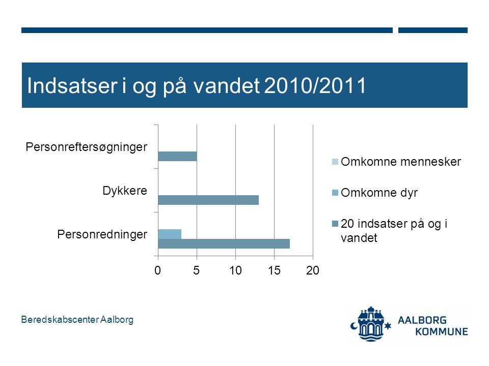 Indsatser i og på vandet 2010/2011