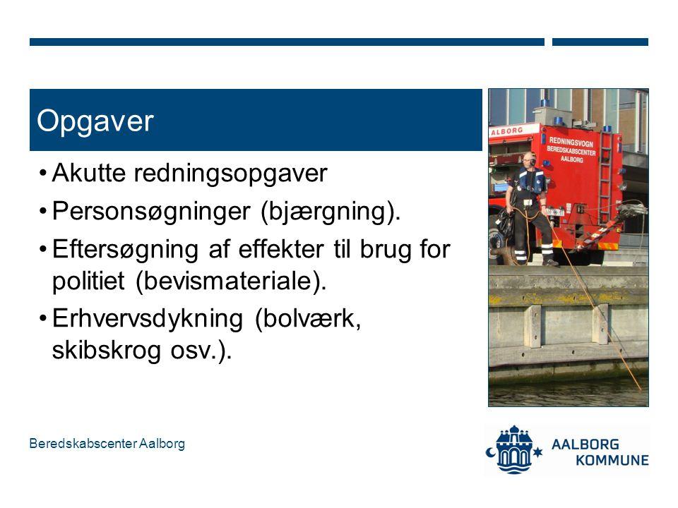 Opgaver Akutte redningsopgaver Personsøgninger (bjærgning).