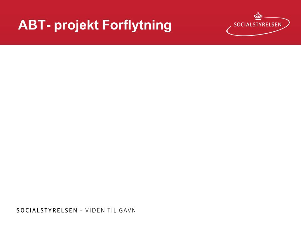ABT- projekt Forflytning