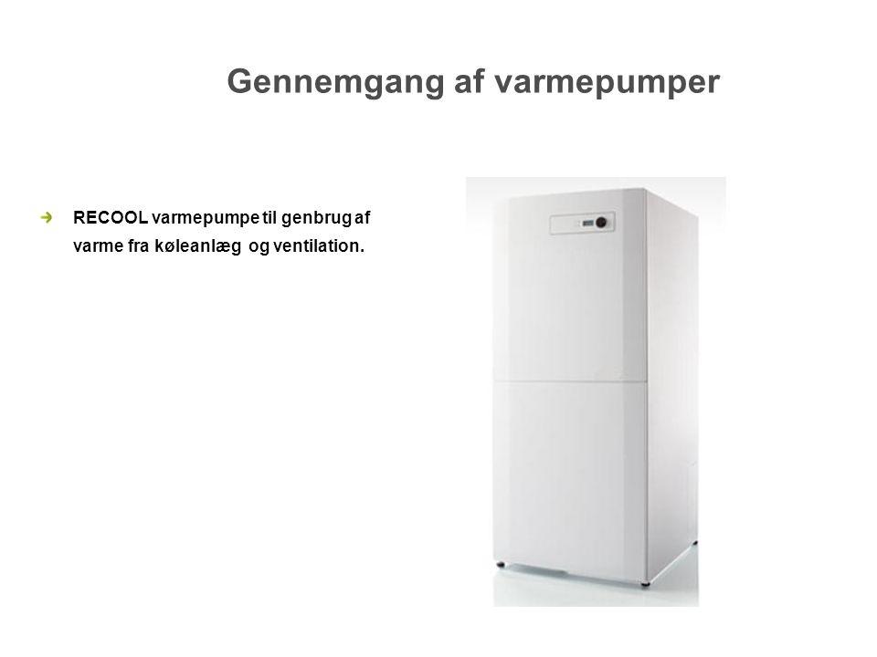 Gennemgang af varmepumper