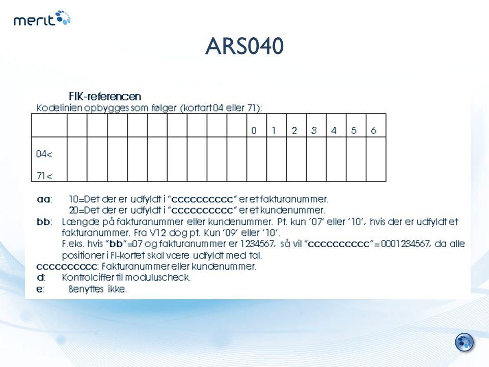 ARS040
