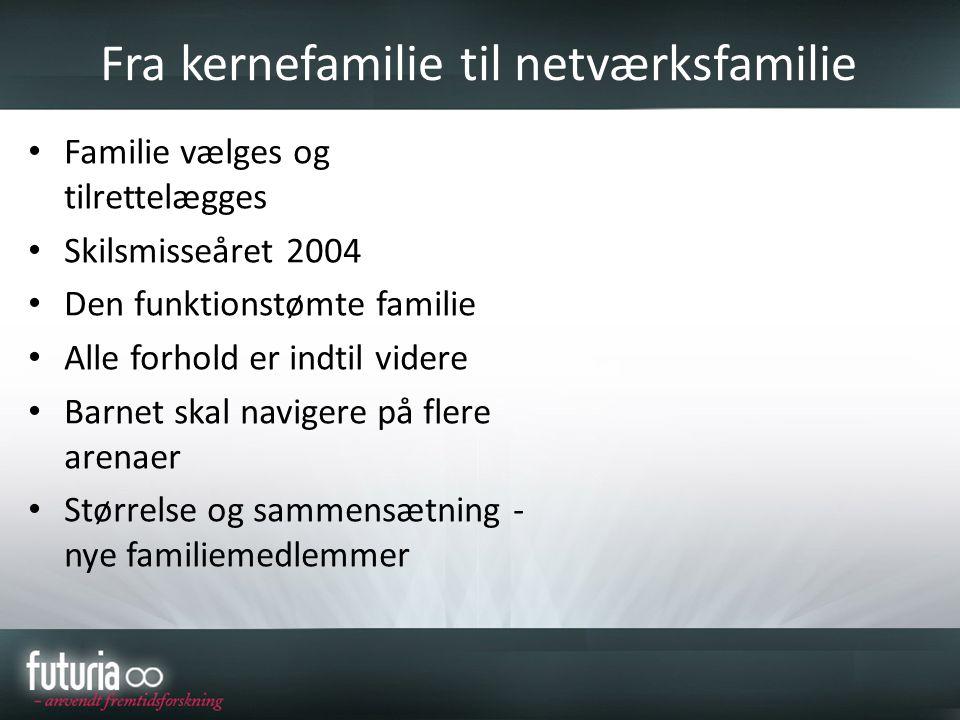 Fra kernefamilie til netværksfamilie