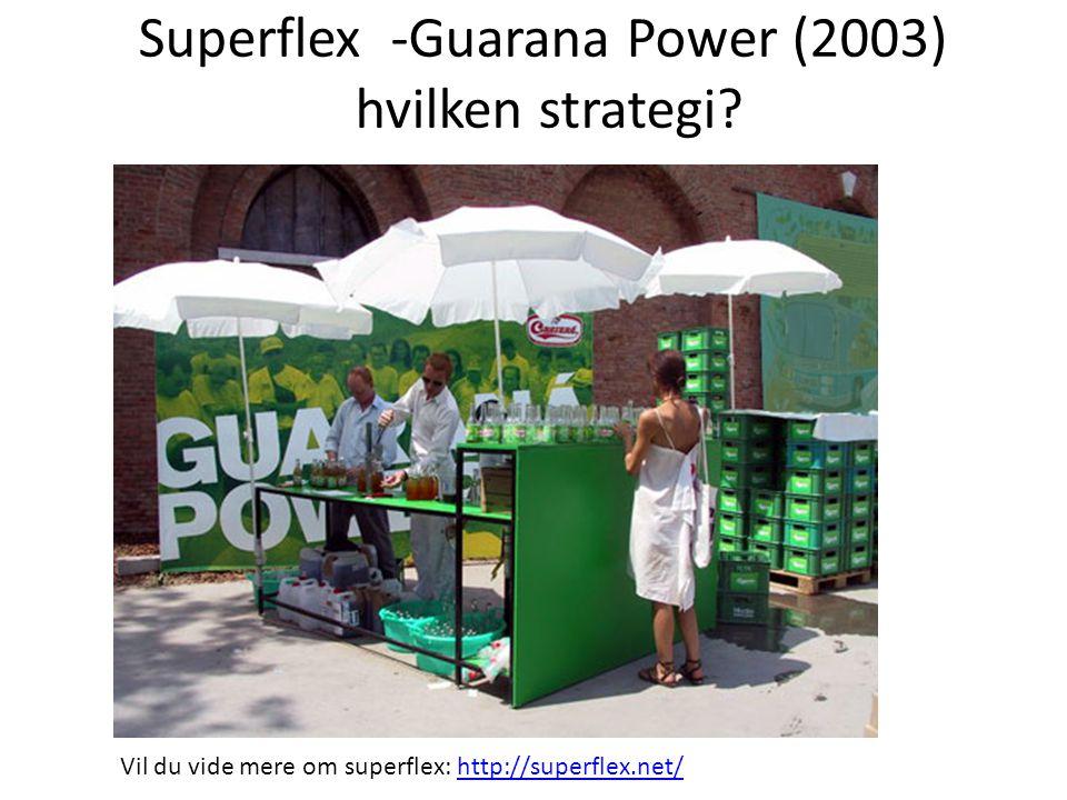Superflex -Guarana Power (2003) hvilken strategi