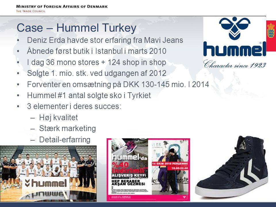 Case – Hummel Turkey Deniz Erda havde stor erfaring fra Mavi Jeans