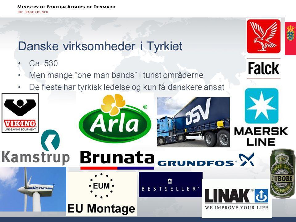 Danske virksomheder i Tyrkiet