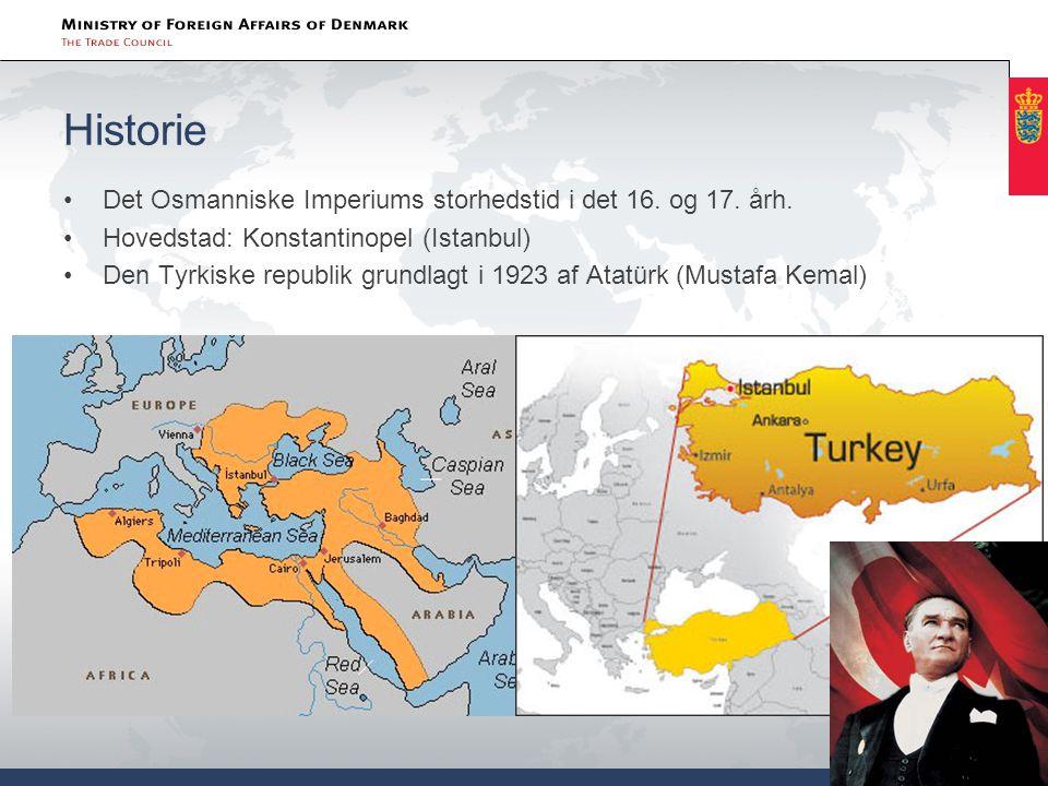 Historie Det Osmanniske Imperiums storhedstid i det 16. og 17. årh.
