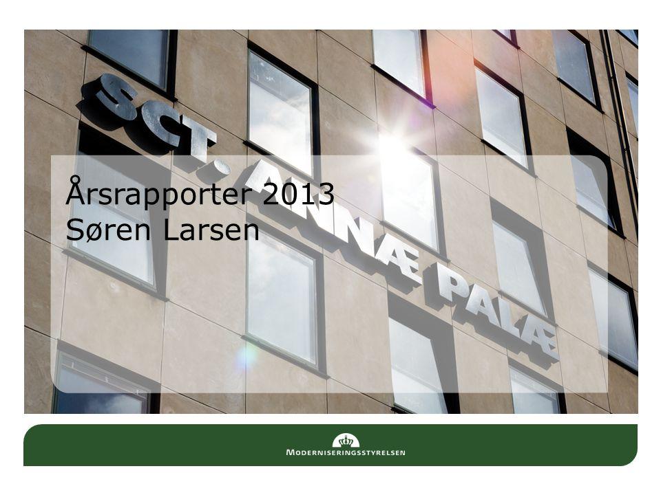 Årsrapporter 2013 Søren Larsen