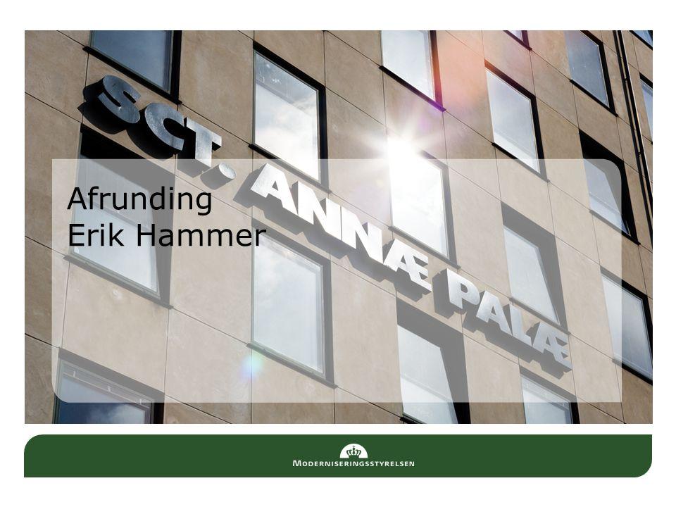 Afrunding Erik Hammer