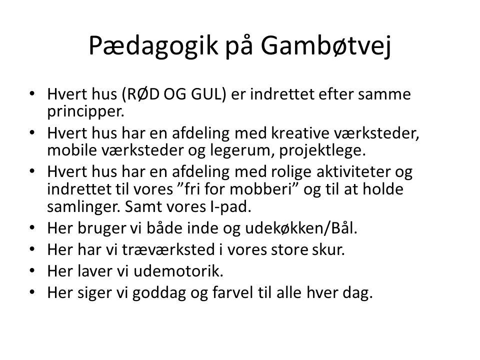 Pædagogik på Gambøtvej