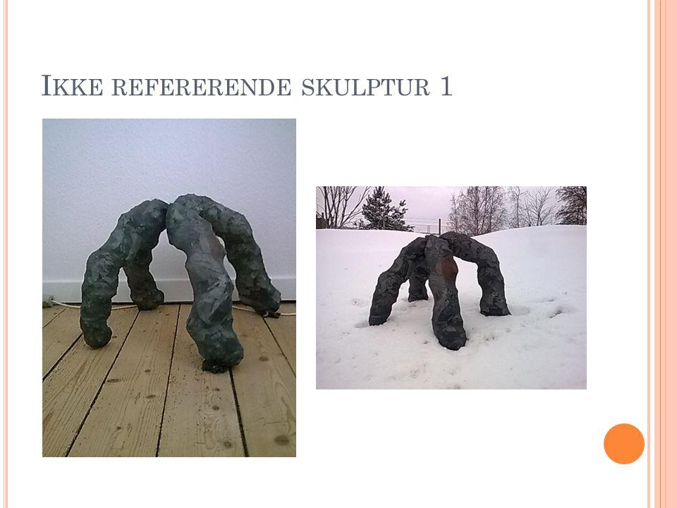 Ikke refererende skulptur 1