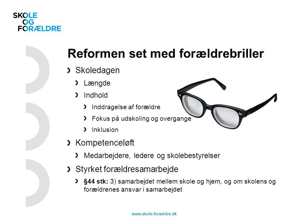 Reformen set med forældrebriller