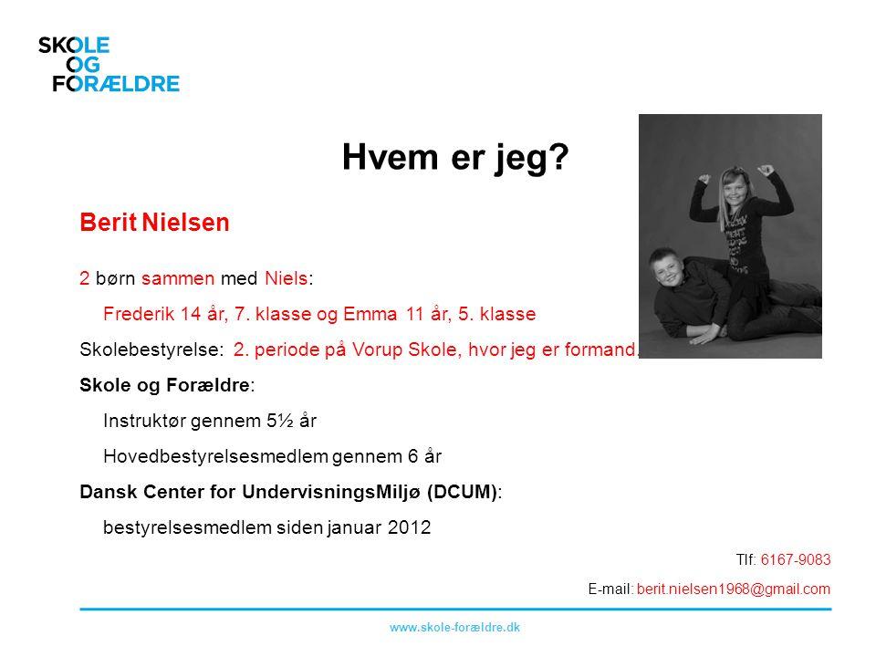 Hvem er jeg Berit Nielsen 2 børn sammen med Niels: