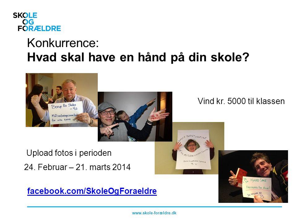 Konkurrence: Hvad skal have en hånd på din skole