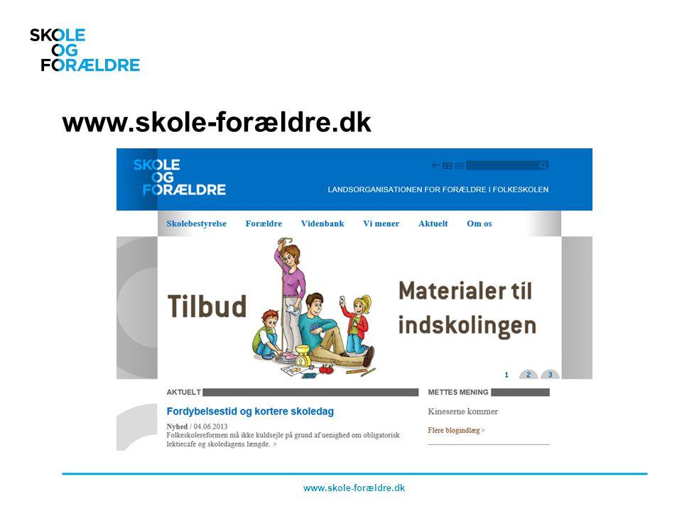 www.skole-forældre.dk www.skole-forældre.dk