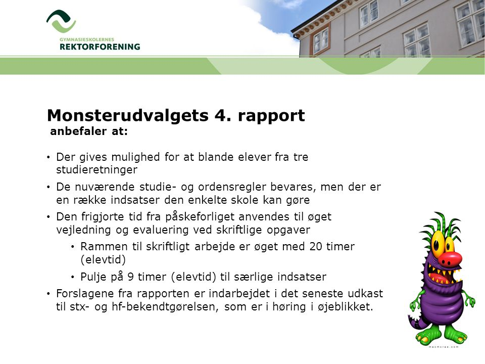 Monsterudvalgets 4. rapport