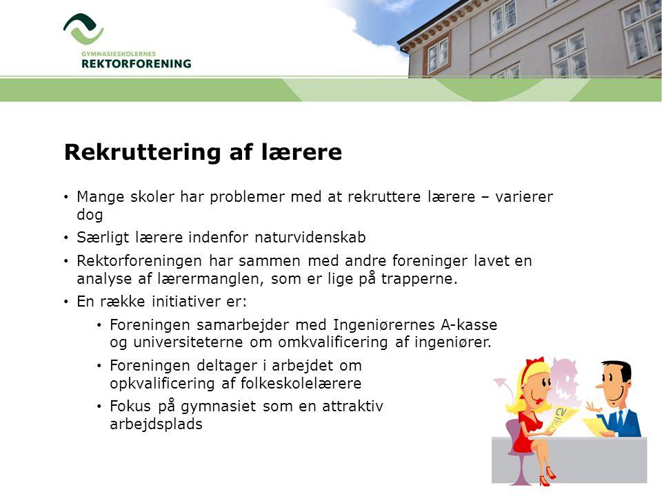 Rekruttering af lærere