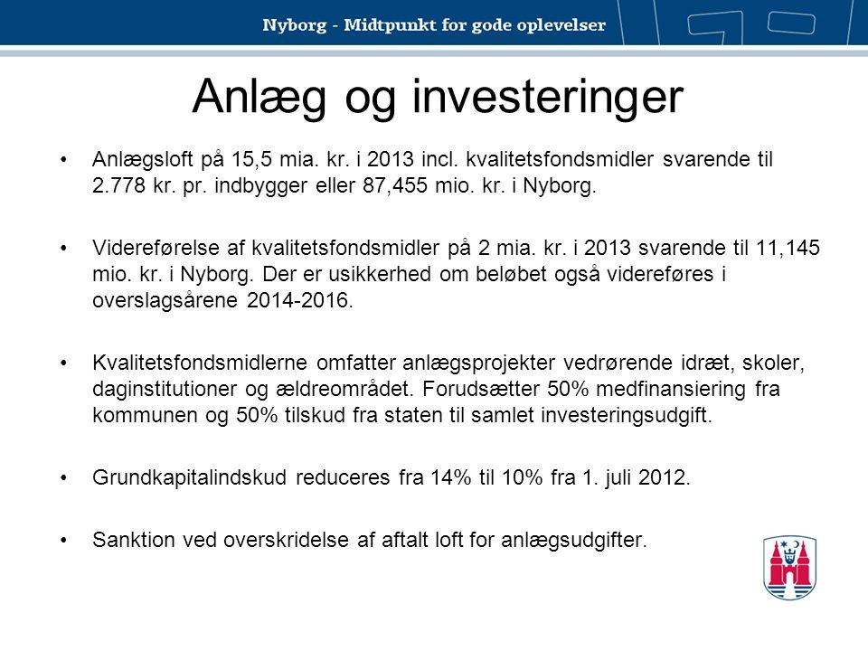 Anlæg og investeringer