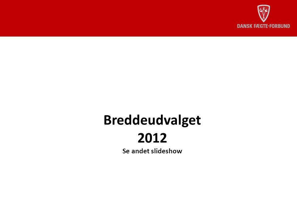 Breddeudvalget 2012 Se andet slideshow