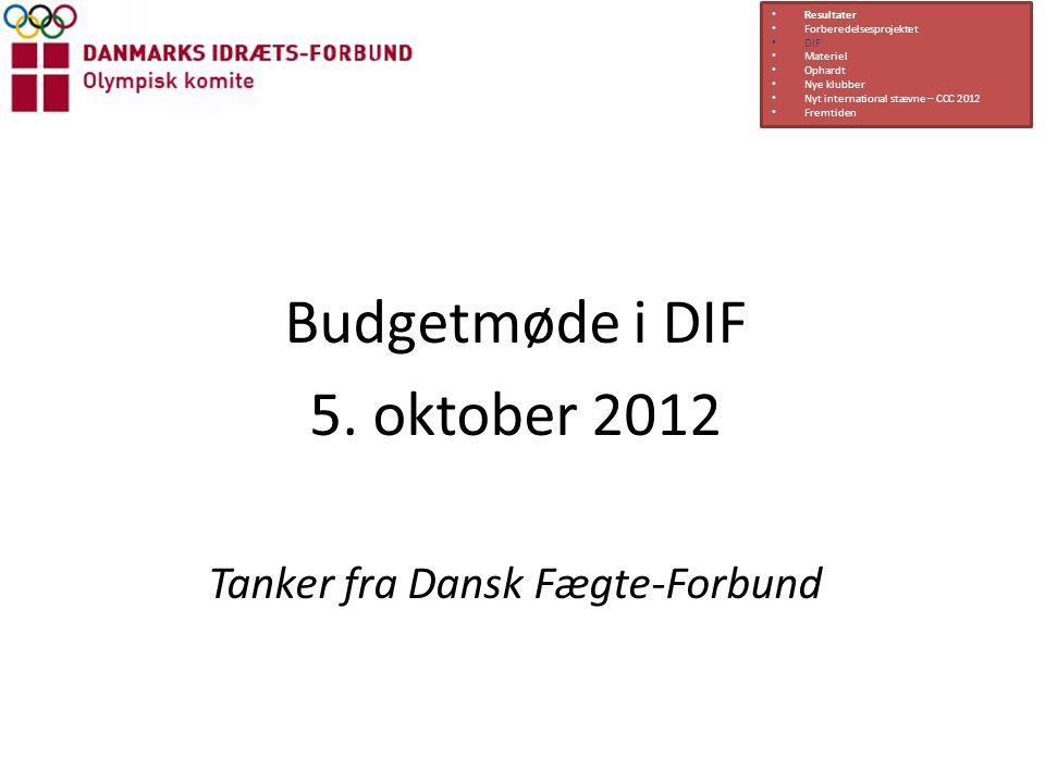Tanker fra Dansk Fægte-Forbund