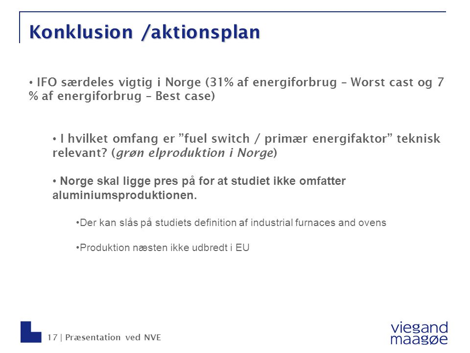 Konklusion /aktionsplan