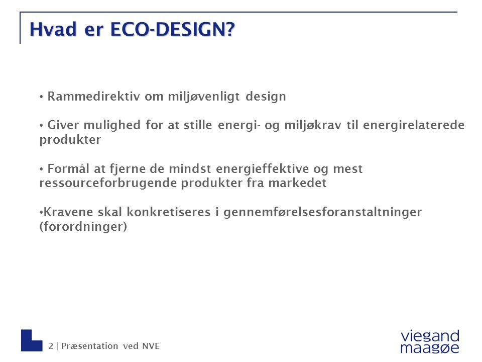 Hvad er ECO-DESIGN Rammedirektiv om miljøvenligt design