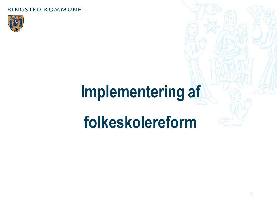 Implementering af folkeskolereform