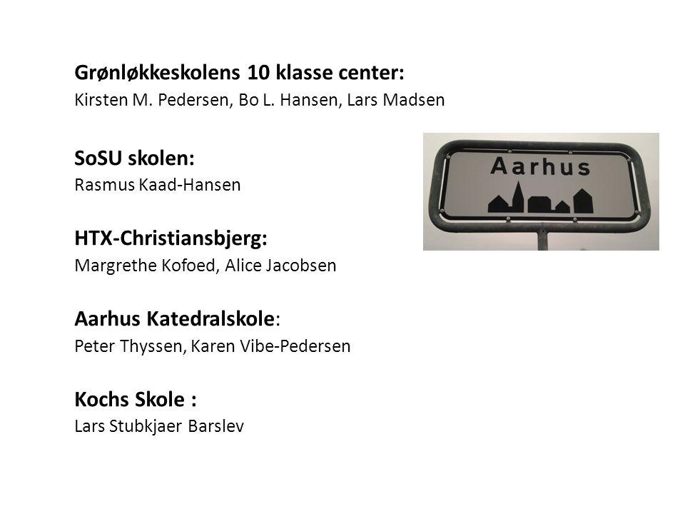 Grønløkkeskolens 10 klasse center: