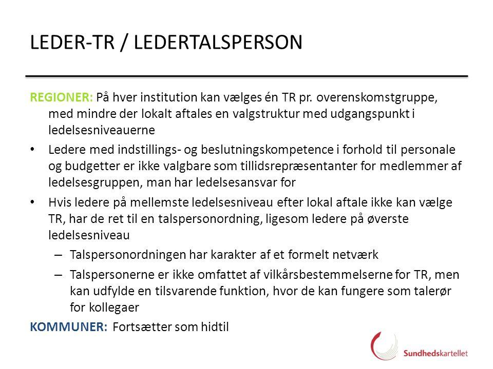 LEDER-TR / LEDERTALSPERSON