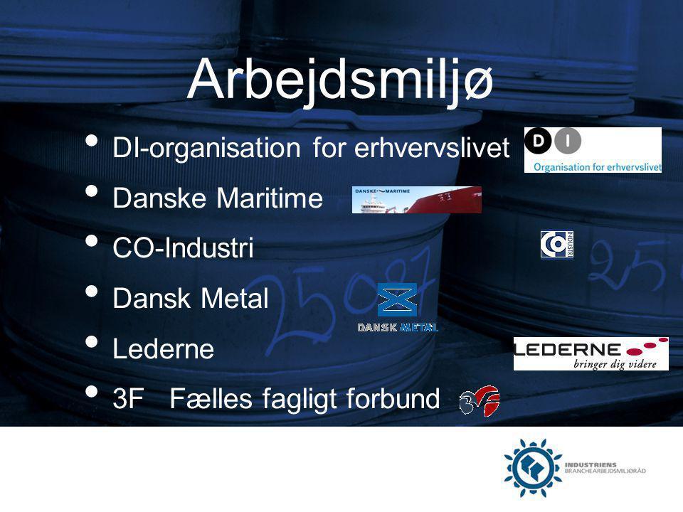 Arbejdsmiljø DI-organisation for erhvervslivet Danske Maritime